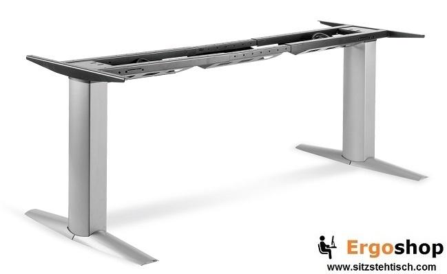 Steh-Sitz-Tischgestell 501-23 elektrisch höhenverstellbar