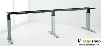 Sitz-Steh-Besprechungstischgestell