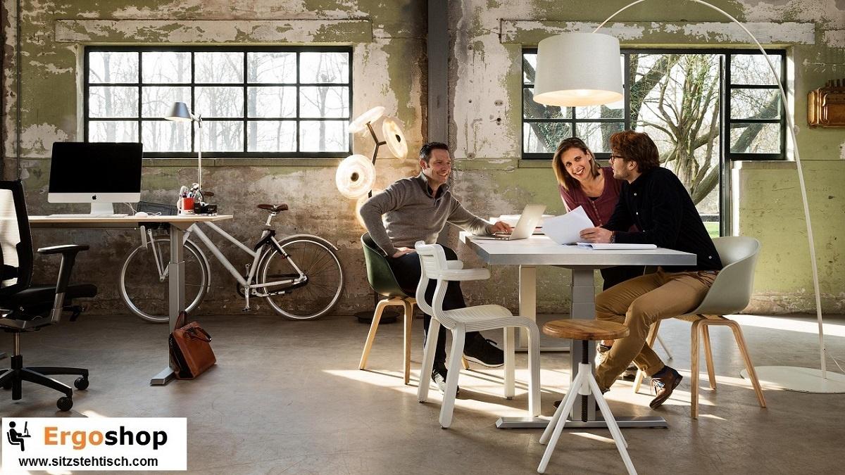 tischgestelle und schreibtischgestelle h henverstellbar mit kurbel oder motor. Black Bedroom Furniture Sets. Home Design Ideas
