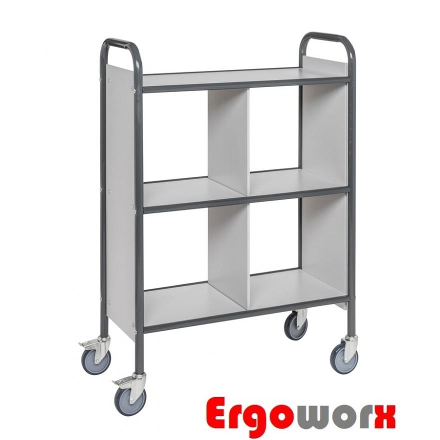 Bürowagen mit 3 Böden – Seitenwänden – Trennwand