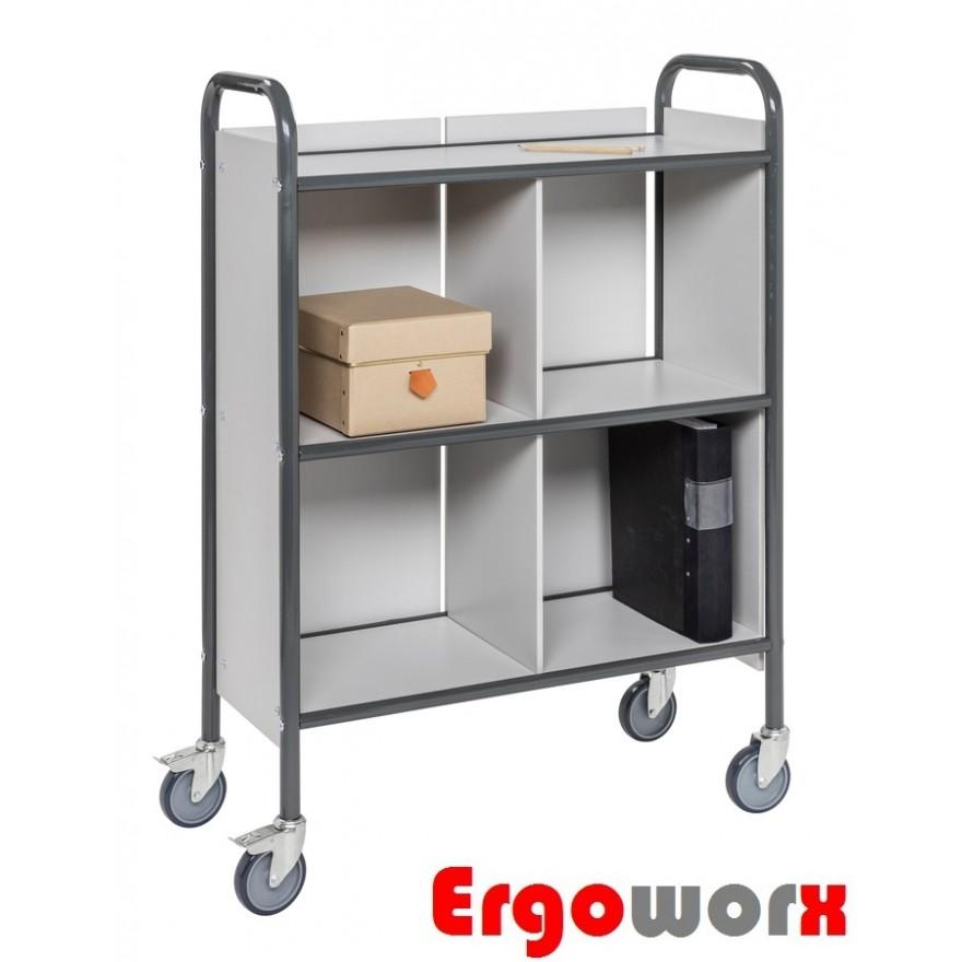 Bürowagen mit 3 Böden – Seitenwänden – Rückwand – Trennwand
