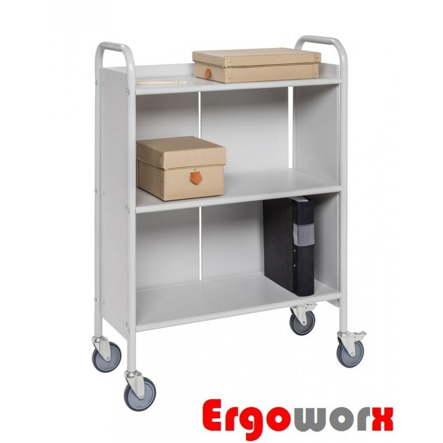 Bürowagen mit 3 Böden - Seitenwänden - Rückwand